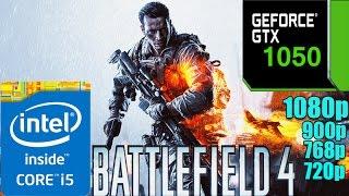 Battlefield 4 On GTX 1050 Ultra Graphics | 1080p - 900p - 768p - 720p