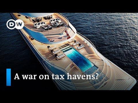 US calls for global minimum corporate tax | DW News