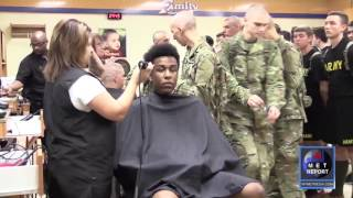 First Day of Army Basic Training: Reception Batallion| show version