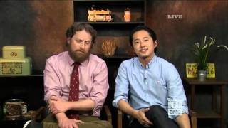 Talking Dead - Steven Yeun finally breaks silence