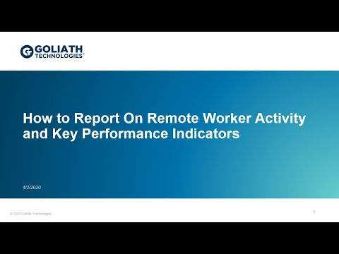 How To Report On Remote Worker Activity And Key Performance Indicators