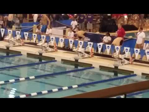 Andrew Wilson of Emory University,  50.94, 100 breaststroke, 2017 NCAA