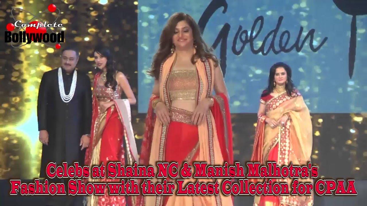 Celebs at Shaina NC & Manish Malhotra's Fashion Show with