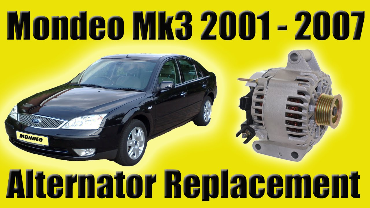 Ford Mondeo Mk3 Alternator Removal Diesel How To Youtube Focus 2006 Location
