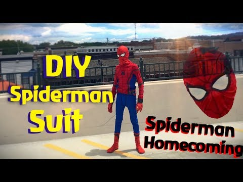 Make Your Own Spiderman Costume! (DIY)