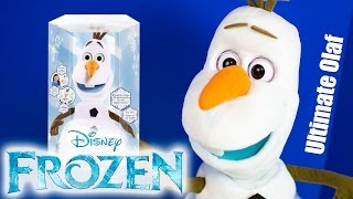 Ultimate Olaf Toy Disney Frozen Toys Review by Kinder Playtime