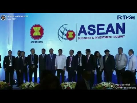 Duterte's speech at Asean summit in Laos