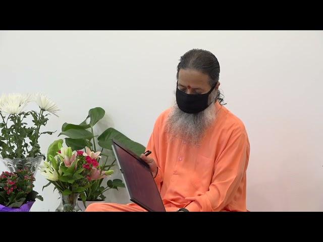 May 13, 2021 Morning Darshan with Paramahamsa Prajnanananda
