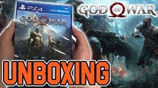God of War (PS4) Unboxing!!
