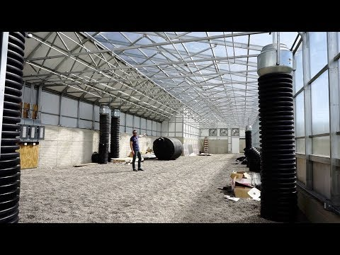 HighYield™ Commercial Cannabis Greenhouse in Central Michigan Part One