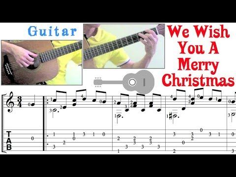 We Wish You A Merry Christmas (Guitar)