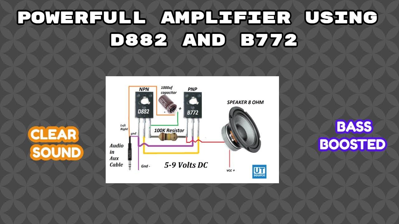 Adanse B772 5 unidades D882 PNP transistor de potencia media