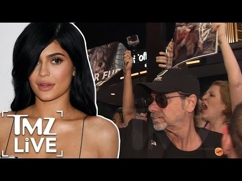 Kylie Jenner Attacked By Protesters | TMZ Live from YouTube · Duration:  3 minutes 19 seconds
