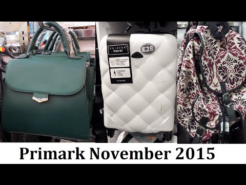 New Bags, Purses & Luggage at Primark   November 2015   IlovePrimark