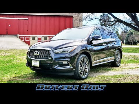 2019 Infiniti QX60 - Comfortable and Capable Luxury Midsize SUV