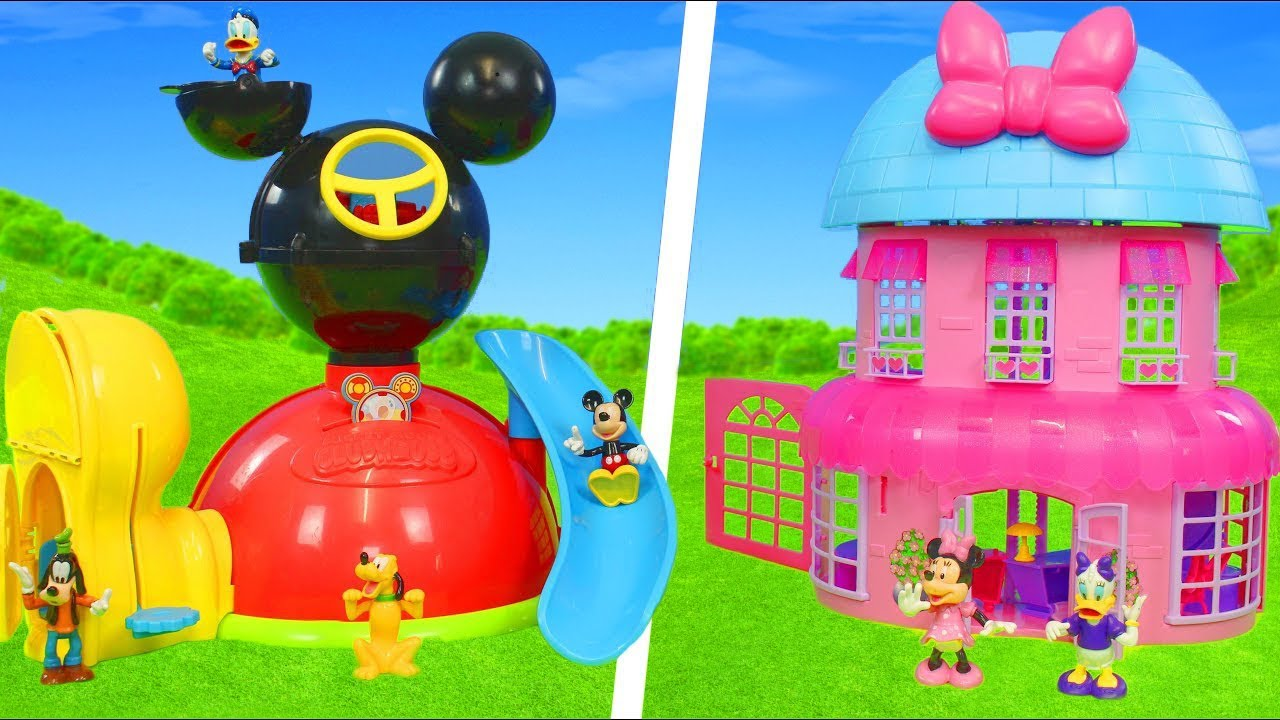 Download Minnie Mouse & Mickey: Clubhouse, Bow Tique, Fireman, Doll House & Toy Vehicles for Kids