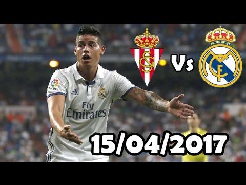 James Rodriguez Vs Sporting de Gijón HD 720 - 15/04/2017
