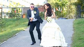 Repeat youtube video LENIN & TANYA - GANGNAM STYLE (CRAZY WEDDING)