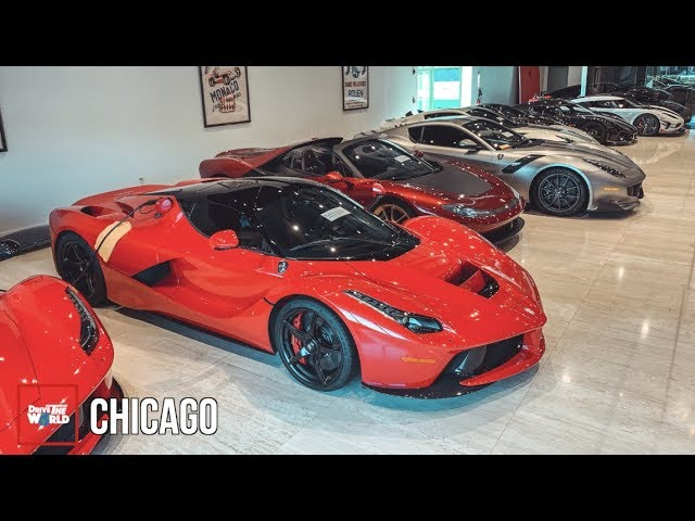 The Unbelievable $50m Ferrari Dealership! [FXX, LaFerraris, Koenigseggs + More]