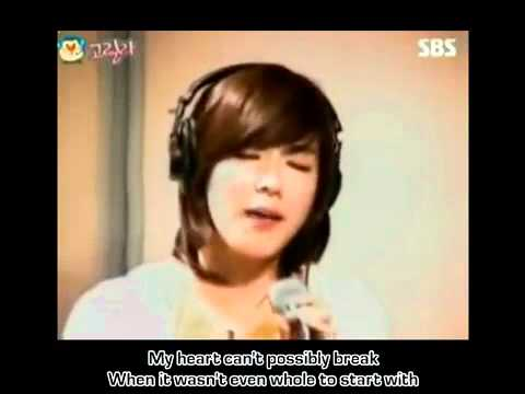 [HD] BECAUSE OF YOU by Taeyeon _ Tiffany of SNSD (Lyrics) - YouTube.FLV