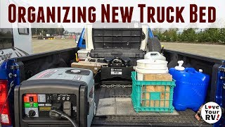 In this video, I show you how I have the 8-foot bed of our new 2018...