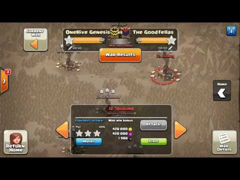 Clash of clans war attacks and guide