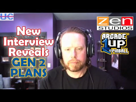 Gen 2 Plans for Arcade1up Pinball Revealed by Zen's Mel Kirk from Unqualified Critics