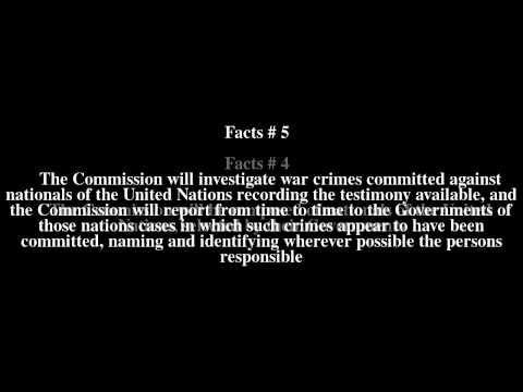 United Nations War Crimes Commission Top # 11 Facts