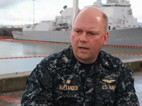 Capt. John Alexander, Commanding Officer, USS Abraham Lincoln