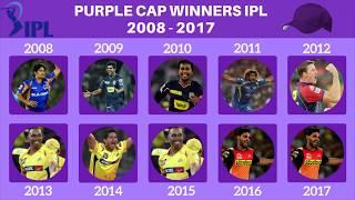 IPL Purple Cap Winners List 2008 - 2017