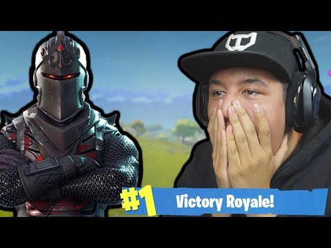BLACK KNIGHT UNLOCKED! - Fortnite: Battle Royale