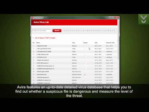 Avira Free Antivirus 2014 - Detect And Remove Viruses - Download Video Previews