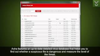 Avira Free Antivirus 2014 - Detect and remove viruses - Download Video Previews