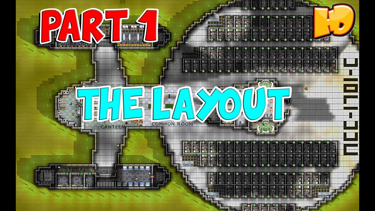 Prison architect the layout youtube The best layout