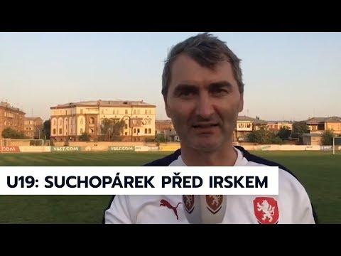 U19 | Jan Suchopárek před zápasem s Irskem na ME