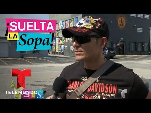 Fernando Colunga prepara su cuerpo para su nuevo proyecto  Suelta La Sopa  Entretenimiento