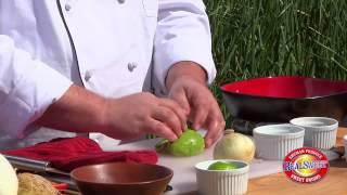 Caribbean Pork Tenderloin With Vidalia®-mango Salsa