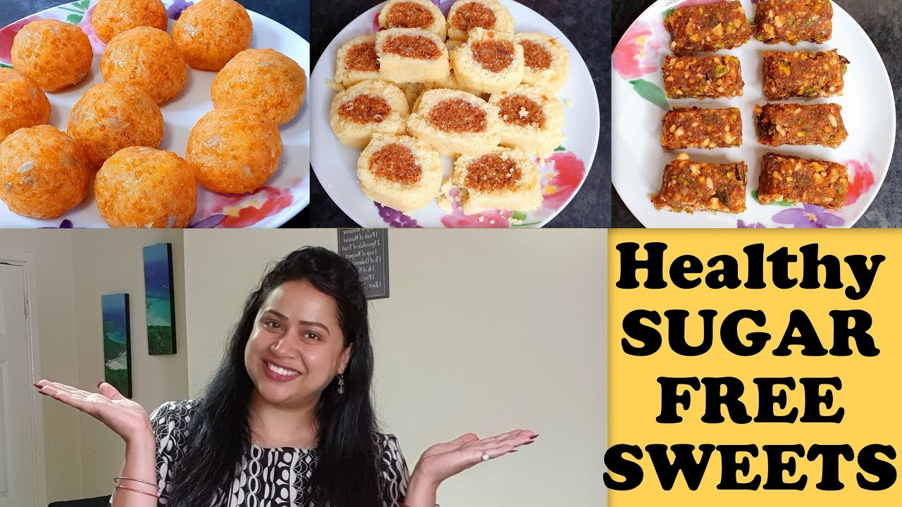 3 Healthy Sugar Free Sweets | Best Recipes for Hindu Fasting | Quick & Easy Sweets in just 15 mins