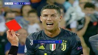 10 Expulsiones Más Famosas De Cristiano Ronaldo