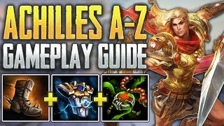 Achilles Gameplay Guide   Executing An Aphrodite In Her Ult!? - SMITE A-Z Conquest