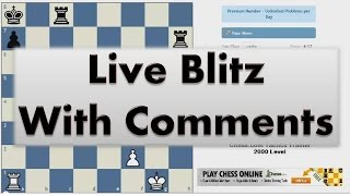 Blitz chess #1940 with live comments kings indian averbakh vs maradona with white