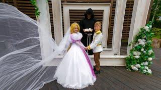 Рапунцель НЕВЕСТА! Сказочная свадьба!!!