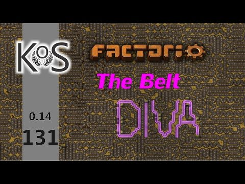 Factorio 0.14 The Belt Diva!  Ep 131: Setting Up Ore Trains