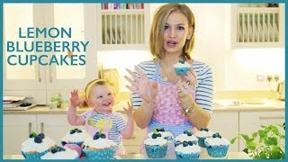 Lemon Blueberry Cupcakes!