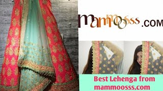 (Lehenga)Online Shopping review ll mammoosss.com ll The Best online Shopping mall for ladies 👭👭ll