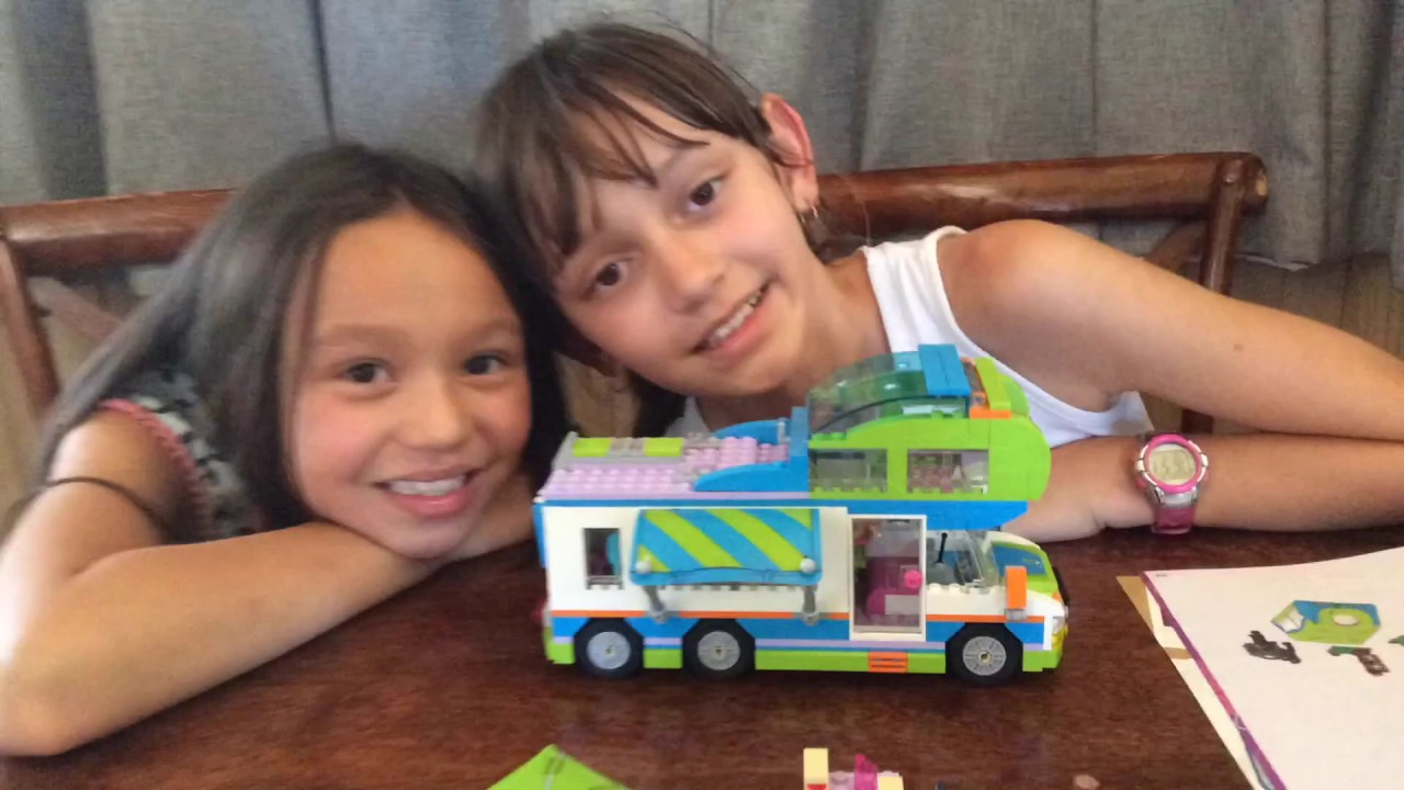 Lego Friends 2018 Mias Camper Van Set 41339 Youtube
