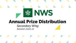 Annual Prize Distribution, Secondary Wing, Session2020 21