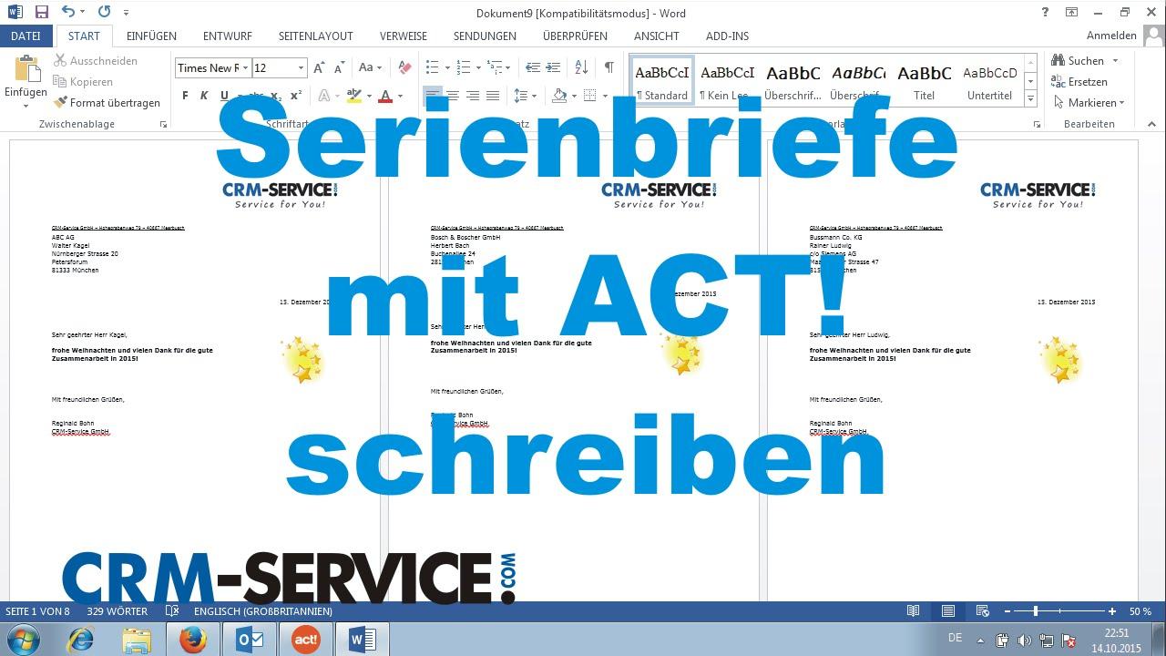 The Act Deutsch