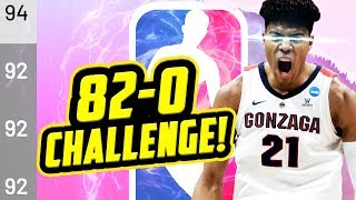 90+ OVERALL STARTING FIVE! 82-0 Rebuilding Challenge!