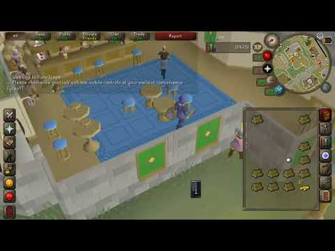 Old School Runescape Open Beta Android Gameplay